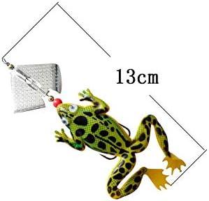 Thunder Frog Lure Lure Weichköder Blackfish Special Bait N1I8
