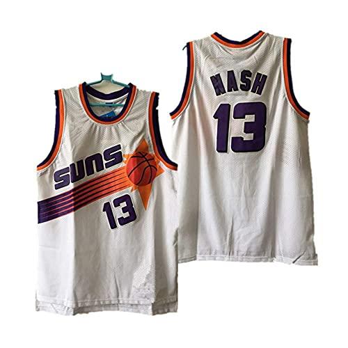 WEIZI Los Hombres 's Camisa de Baloncesto Jersey-Soles # 13 Steve Nash Retro Baloncesto de Vestuario de Verano Tops Gimnasia Chaleco Deportes Top