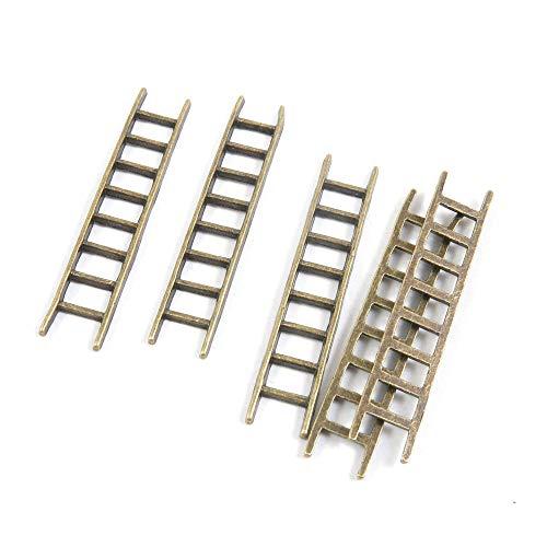 Antieke Bronzen Toon Sieraden Charms G2GF0Z Ladder Craft Art maken Crafting Kralen Antiek brons