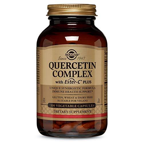Solgar Quercetin-Komplex mit Ester-C Plus Antioxidans 100 Vegetarische Kapseln