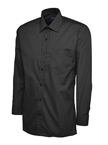 Uneek clothing - Chemise business - Homme Noir Noir petit