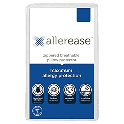 Aller-Ease Allerease Maximum Allergy and Bedbug pillow Protector from Aller-Ease