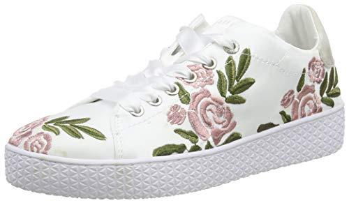 bugatti Damen 431525096959 Sneaker, Mehrfarbig (White/Multicolour 2081), 39 EU