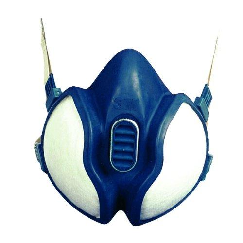 3 M demi-masque fFA1P2 série 4000 type 4251 port d'une protection respiratoire