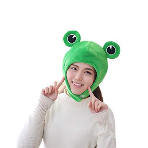 Atrumly Gorro de peluche con diseño de animales, ideal para cosplay y fotos