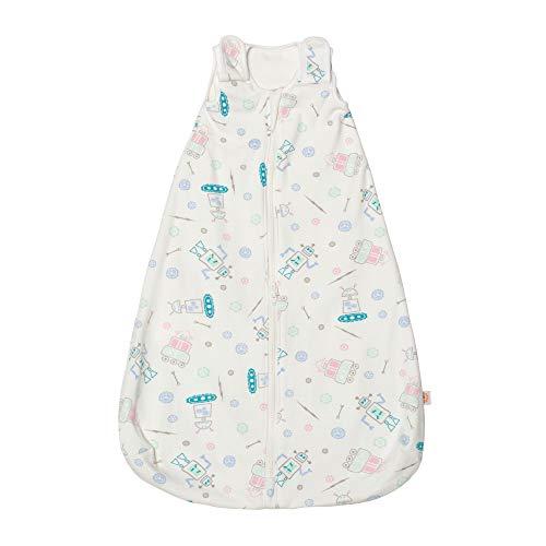 Ergobaby Saco de Dormir Bebe Recién Nacidos en Algodón TOG1.0, Niño Niña 0-6meses, Robots