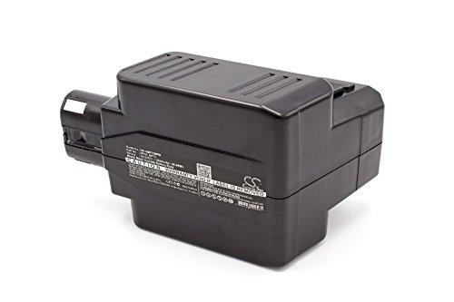 vhbw NiMH batteria 2000mAh (24V) per strumenti attrezzi utensili da lavoro come Hilti BP60