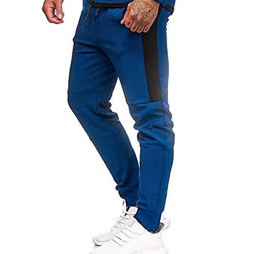 Pantalones Casuales para Hombre, Cintura elástica, cordón, Transpirable, Yoga, Gimnasio, Pantalones Ligeros, Pantalones de Playa de Verano para Viajar L