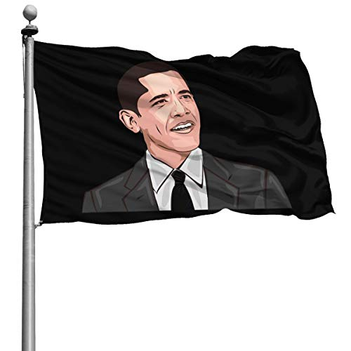 President Barack Obama Portrait 4X6 Ft USA Flag Foot Banner Flags Garden Flag Home House Flags US Outdoor Flag