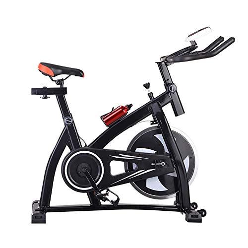 WSJIANP Bicicleta De Spinning,Ultra Silencioso Bicicleta De Fitness,Equipamiento Deportivo De Fitness,Bicicleta De Gimnasio En Casa,Ciclismo Indoor Bicicleta Dinámica Negro 115x50x108cm(45x20x43inch)