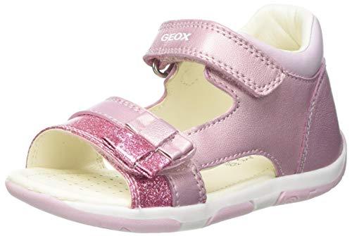 Geox Baby-Mädchen B TAPUZ Girl Sport Sandal, LT PINK, 26 EU