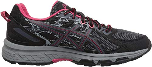ASICS Women's Gel-Venture 6 Running Shoes, 9M, Black/Pixel Pink