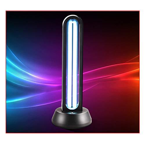 BDGYF Lámpara De Esterilización UV - Desinfección UVC Portátil/Purificador De Ozono Desinfectante De Aire - Lámpara Germicida para El Hogar - Lámpara De Limpieza Ultravioleta 38W