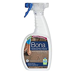 Bona hardwood cleaner - helps reduce scratches