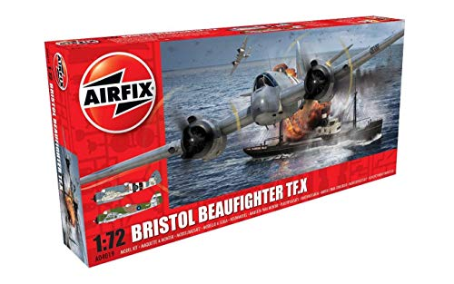Price comparison product image Airfix Bristol Beaufighter TF.X 1:72 WWII Military Aviation Plastic Model Kit A04019