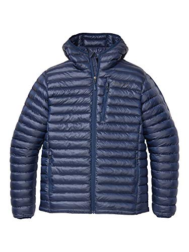 Marmot Herren Ultra-leichte Isolierte Winterjacke, Warme Outdoorjacke Mit Kapuze, Wasserabweisend, Winddicht Avant Featherless Hoody, Arctic Navy, S, 74730