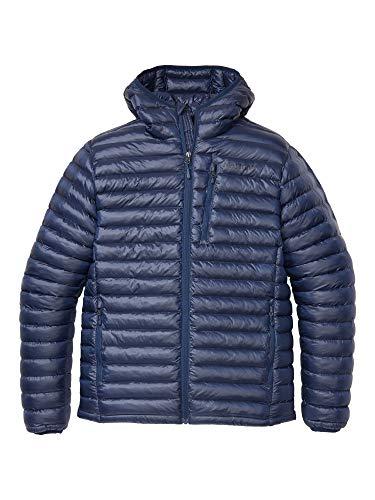 Marmot Herren Ultra-leichte Isolierte Winterjacke, Warme Outdoorjacke Mit Kapuze, Wasserabweisend, Winddicht Avant Featherless Hoody, Arctic Navy, L, 74730
