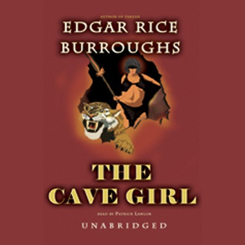 The Cave Girl  audiobook cover art