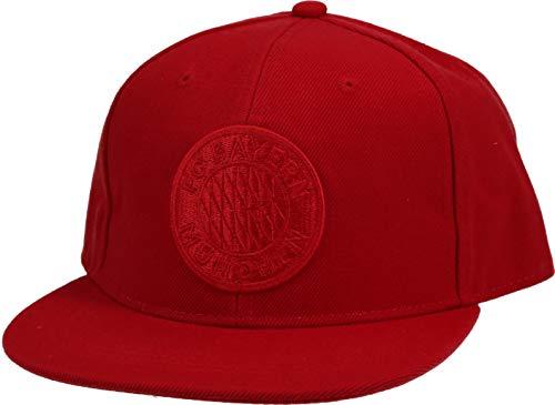 FC Bayern München Snapback Cap Emblem rot