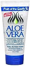 Fruit of the Earth Aloe Vera 100% Gel 6 oz (Pack of 3)