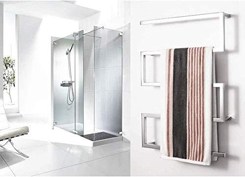 WGFGXQ El último toallero eléctrico de cuarta generación en 2019, Calentador de Toallas, Calentador de Toallas, Calentador de Toallas eléctrico, fácil de Instalar, complemento