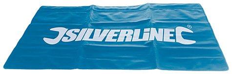 Silverline 380102 - Lona protectora para mecánico (780 x 590 mm)
