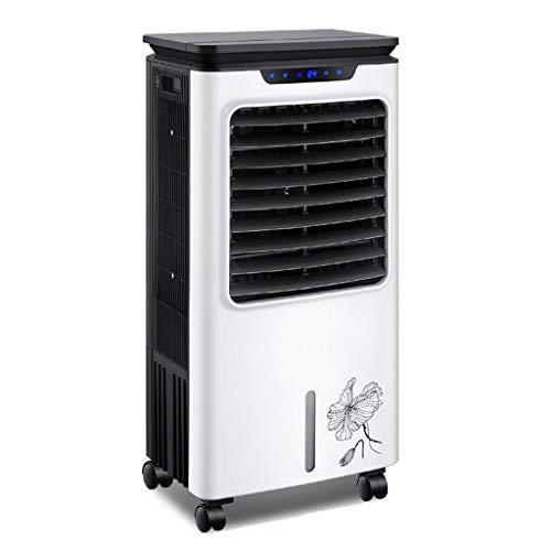 Verdunstungs Aircooler | 8 Liter | Mobile Klimaanlage | Stumm Schalten Klimagerät | Tragbarer Luftreiniger | Ventilator Mit Fernbedienung | Luftkühler | Luftbefeuchtung