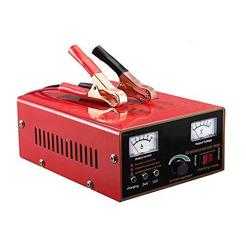Z&LEI 600W Potente Completo Automático Automático 12V 24V Cargador de batería de Coche Inteligente Pulso Reparación Voltaje Digital Pantalla Línea Acid Agm Gel