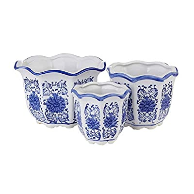 Amazon - 50% Off on Blue and White Porcelain, Flower Pots