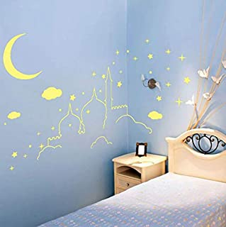 Luminous Switch Sticker Home Decor Cartoon Glowing Wall Stickers Dark Glow Decoration Sticker