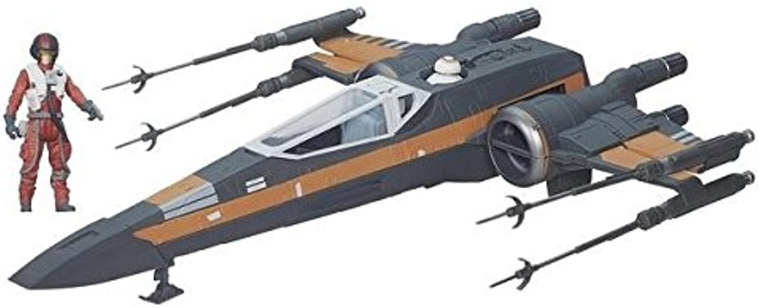 Star Wars  The Force Awakens Poe Dameron's XWing Playset