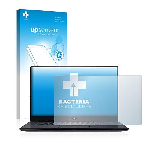 upscreen Antibakterielle Schutzfolie kompatibel mit Dell XPS 15 9560 klare Bildschirmschutz-Folie