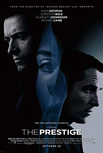 Christ-EZ The Prestige Wall Movie Poster - Matte poster Frameless Gift 11 x 17 inch(28cm x 43cm)