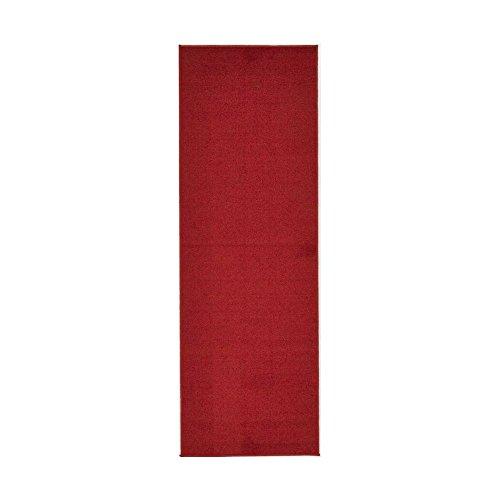 SJ&P Red Carpet Aisle Runner - 4' x 20' Indoor Outdoor Carpet (Offer different size)