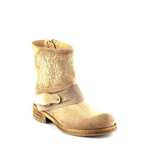 Felmini - Damen Schuhe - Verlieben Cooper A743 - Cowboy & Biker Stiefel - Echtes Leder - Mehrfarbig - 37 EU Size