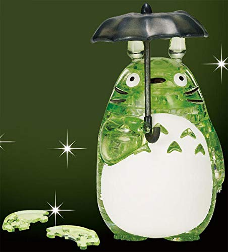 BEVERLY Crystal Puzzle [42 Pieces] Totoro/Green (Japan Import)