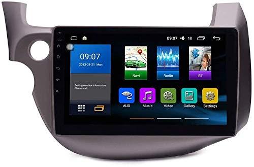 ZBHWYD Android 10 Radio automático GPS Navegación Host Pantalla táctil Control de teléfono Bluetooth WiFi SWC Coche Estéreo Multimedia Player Sat Nav For Hon da Fit 2008-2013 Video Reception