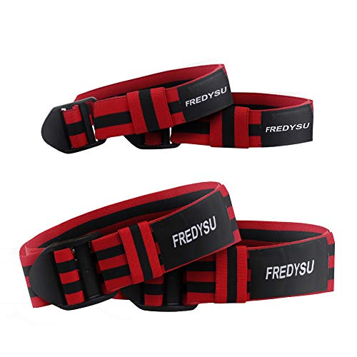 Occlusion Bands, Bicep Blaster Blood Flow Restriction Training Arm Leg,Exercise Bands for Men and Women, Help Fast Muscle Growth Without Lifting Heavy Weights 4 Pieces (2 Arms & 2 Legs)