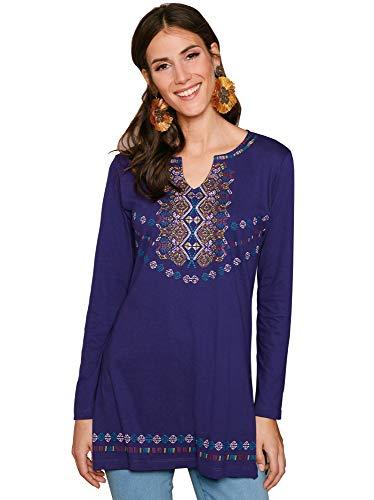 VENCA Camiseta Estampado posicional Mujer - 029943