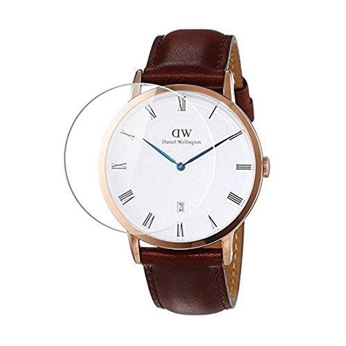 Uhrenglas-Schutzfolie für Daniel Wellington Armbanduhr, LOKEKE Premium gehärtetes Glas