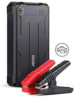 Roav Jump Starter Pro, by Anker, 800A Peak 12V Car Jump Starter (Up to 6.0L Gas, 3.0L Diesel Engines) Emergency Portable P...