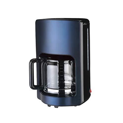 Team Kalorik TKG CM 1220 BU Filter-Kaffeemaschine für bis zu 15 Tassen, 1000, 1.8 liters, metallic Dunkelblau