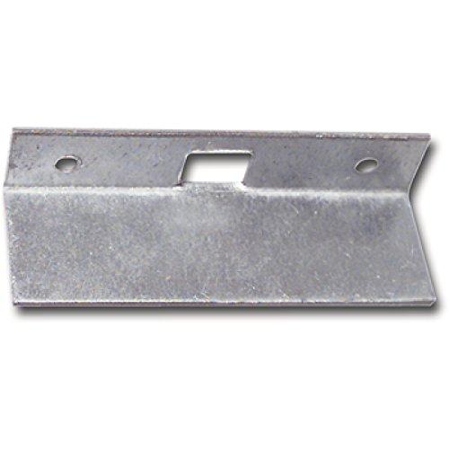 Reparaturschließblech für Einlegstange gekröpft, 69 x 16 mm, Stahl verzinkt | Fensterverschluss Zubehör