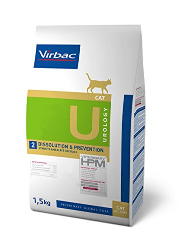 Veterinary Hpm Virbac Hpm Cat U2Urology STR/Diss/Prev 1,5 kg Virbac 00876 1500 g