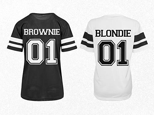 Beste Freundin Trikot Shirts Brownie Blondie