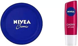 Nivea Creme (100 ML) & Shine Caring Lip Balm Cherry (2 Items in the set)