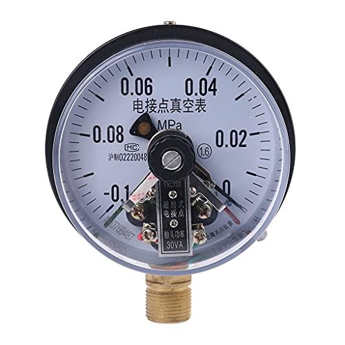 LIXUDECO Indicador de presión YXC-100 4 '' -0.1MPA 30VA Contacto eléctrico Medidor de presión de la Bomba de Agua Presión Magnético Magnético Equipo de Control