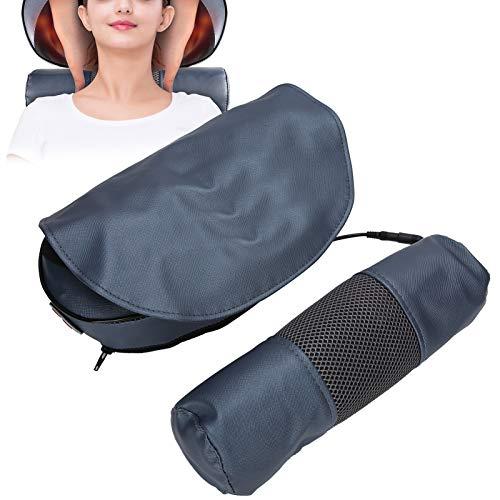 Yctze Masajeador de Cuello eléctrico, masajeador de Espalda y Cintura Cervical, cojín...