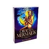 DFFH 45 Tarot Cards,Oracle of The Sirenes,Destiny Adivination Tarot Inglés para principiantes y lectores expertos