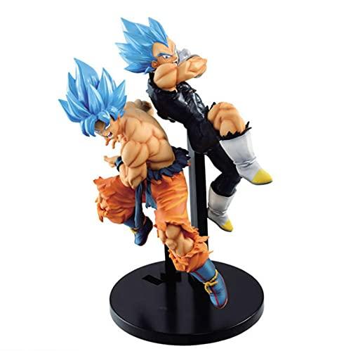 Dragon Ball Super MovieBrolyTag FightersGokuVegetaFigura De Acción 15Cm, Dragon Ball ZSSJBlue HairFiguraPVCJuguetes